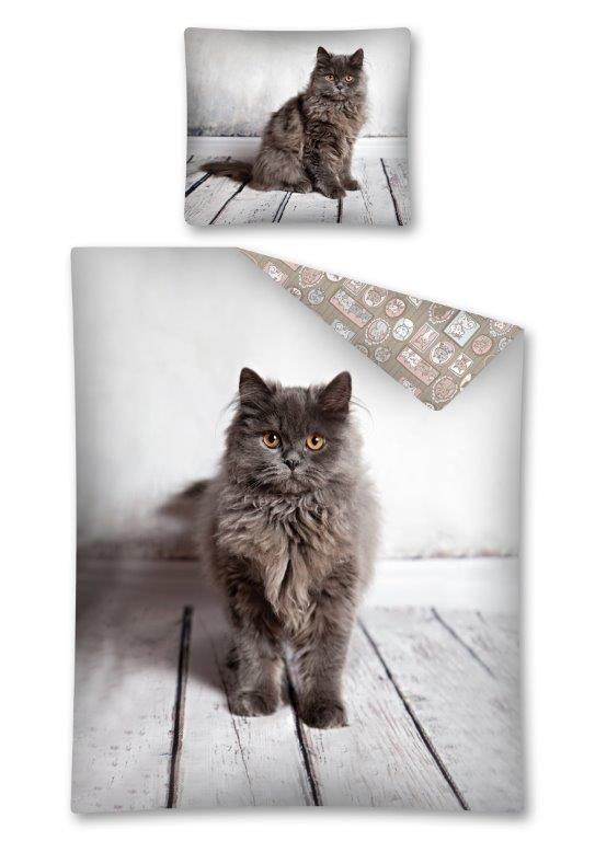 pościel kotek