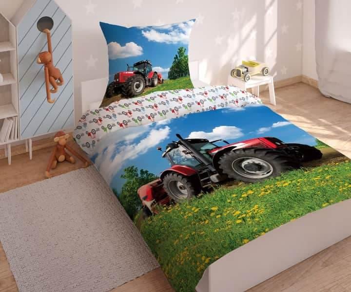 Pościel traktor