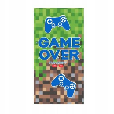 Ręcznik Game Over